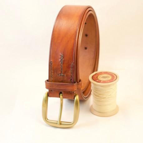 Ceinturon cuir artisanal sur mesure