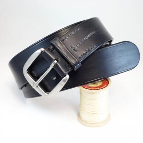 Ceinturon cuir noir sur mesure